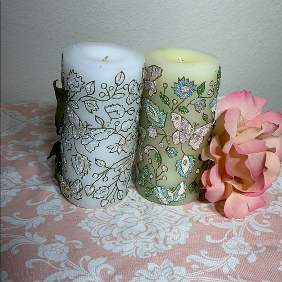 Beautiful candles decorations
